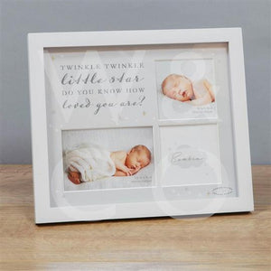 BAMBINO PHOTO FRAME - TWINKLE TWINKLE LITTLE STAR