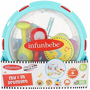 INFUNBEBE My First Drumset (6 instruments)