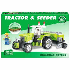 Tractor & Seeder Building Bricks