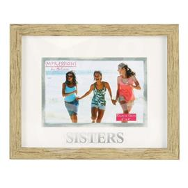 NATURAL WOOD EFFECT FRAME - SISTERS