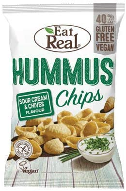 Eat Real Hummus Chips - Sour Cream and Chives