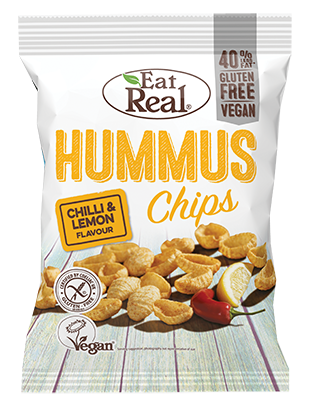 Eat Real Hummus Chips - Chilli and Lemon