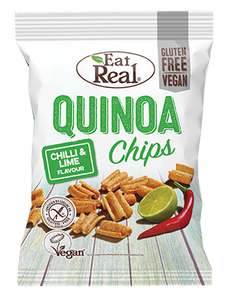Eat Real Quinoa Chips - Chilli and Lime