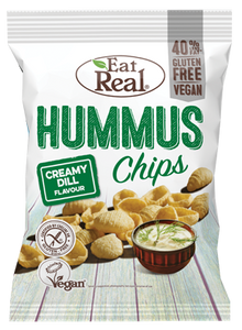 Eat Real Hummus Chips - Creamy Dill
