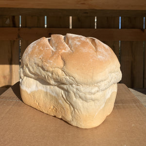 White Farmhouse Loaf Large - Unsliced
