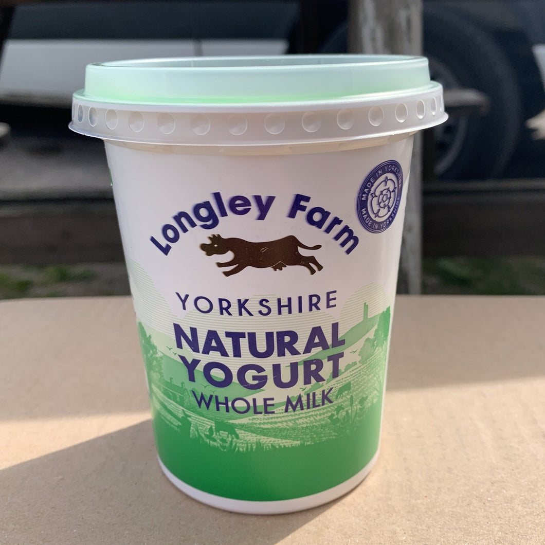 Longley Farm Natural Yogurt