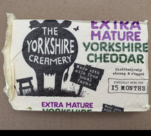Load image into Gallery viewer, Extra Mature Yorkshire Cheddar Cheese