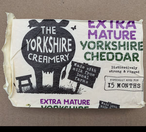 Extra Mature Yorkshire Cheddar Cheese