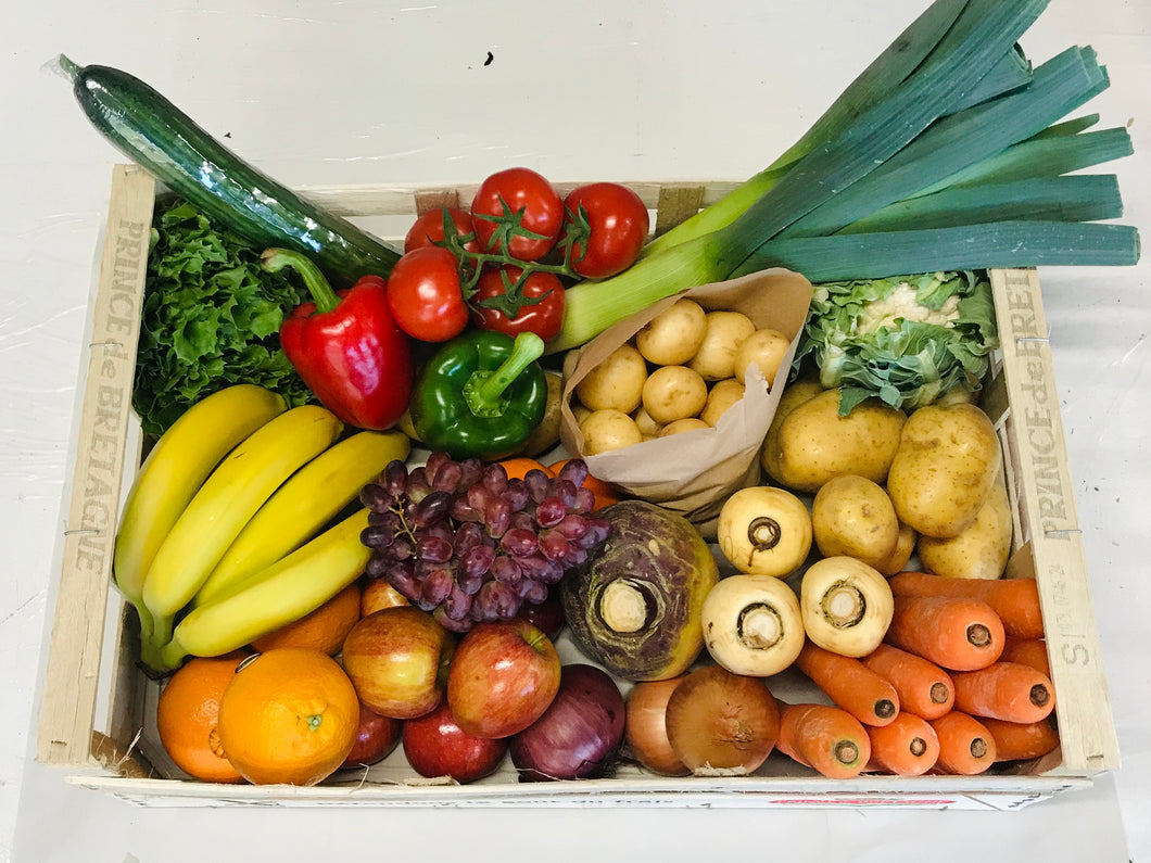Fresh Fruit + Veg + Salad Box
