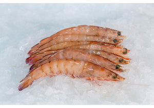 WHOLE GREEN PRAWNS