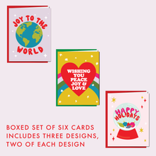 Load image into Gallery viewer, JOYFUL: Boxed Set of 6 Cards