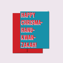 Load image into Gallery viewer, CHRISMAHANUKWANZAKAH