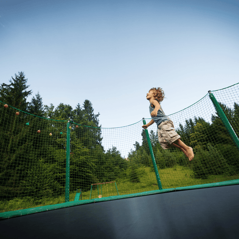 Hold trampolines firmly in the ground with GroundGrabba ground anchors