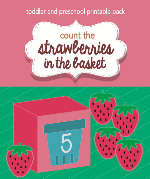 Strawberry Picking Printable Activity