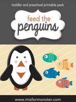 Feed the Penguin Math Game