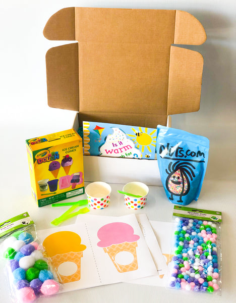 Ice Cream Theme Preschool Box