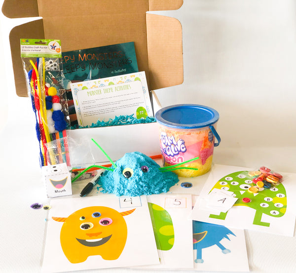 Monster Theme Preschool Box