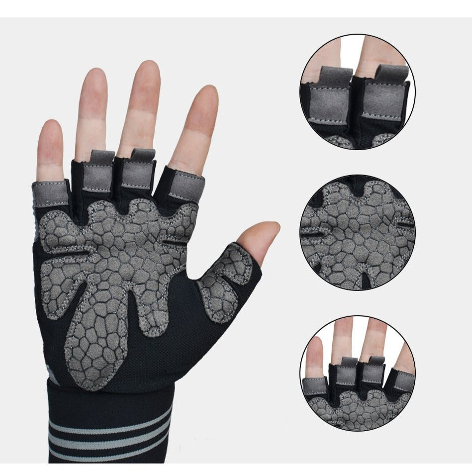 Men Women's Gym Gloves Workout-FitnessLab