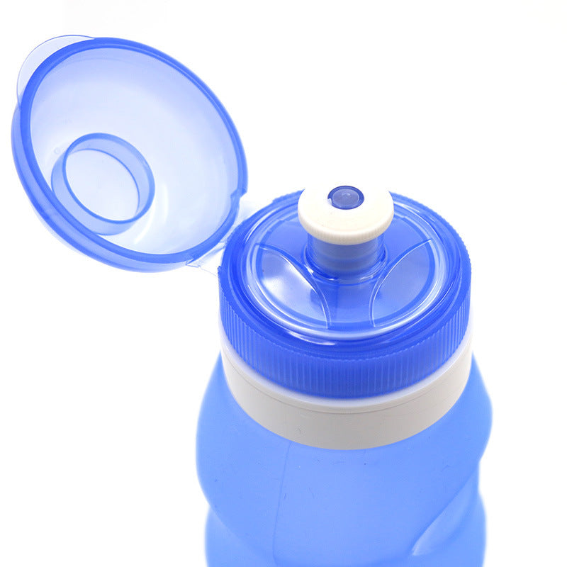 600ML Foldable Water Bottles-FitnessLab