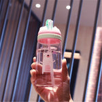 Sport Water Bottle With Straw High Quality-FitnessLab