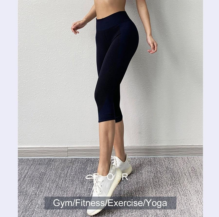 Yoga Sport 3/4 Leggings-FitnessLab