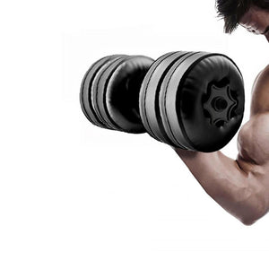 Portable Water Filled Adjustable Dumbbell-FitnessLab