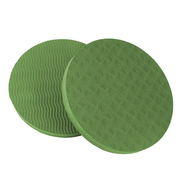 Portable Small Round Knee Pad-FitnessLab