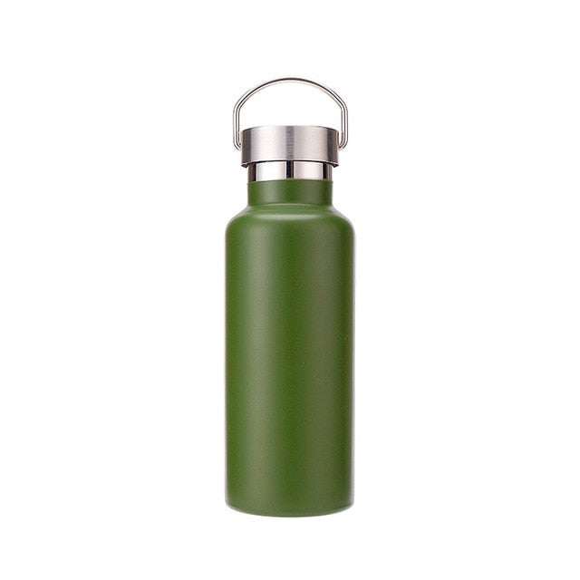 Stainless Steel Double Wall Thermos Flask-FitnessLab