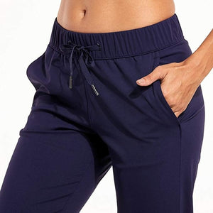 Yoga Pants with Side Pockets-FitnessLab