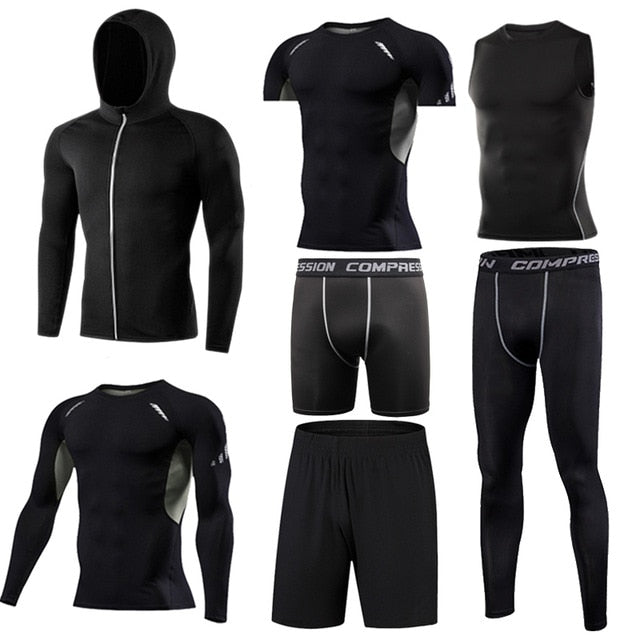 Men's Running Compression  Sets Gym