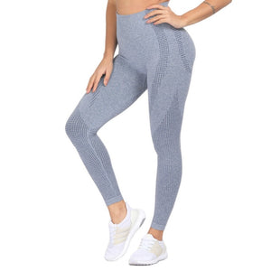 High Waist Seamless Leggings Push Up-FitnessLab
