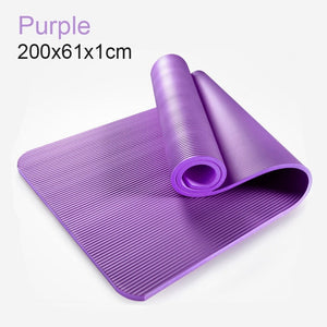 185cm Enlarged Fitness Yoga Mat-FitnessLab