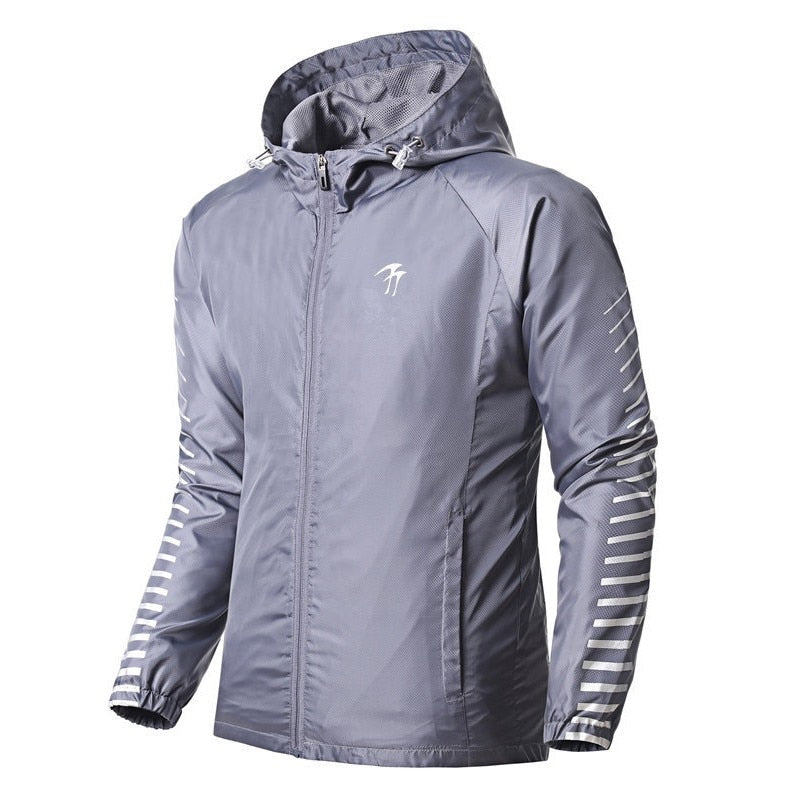 Jacket Windbreaker Windproof Jogging Coat