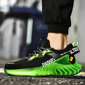 Men Casual Shoes  Big Size Walking Shoes Men Fashion Sneakers Lace-up Fitness Shoes Breathable Jogging Shoes Men Vulcanize Shoes