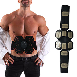 EMS Electric Vibration Abdominal Muscle Trainer-FitnessLab