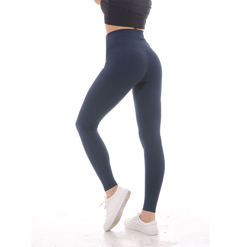 Women Sports high rise leggings-FitnessLab
