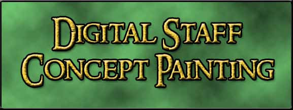 Your Staff Design Digitally Painted