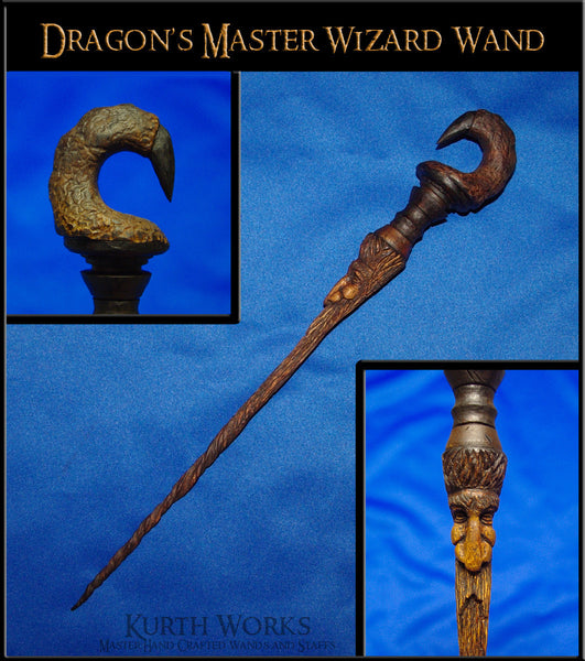 Dragon's Master Wizard Magic Wand