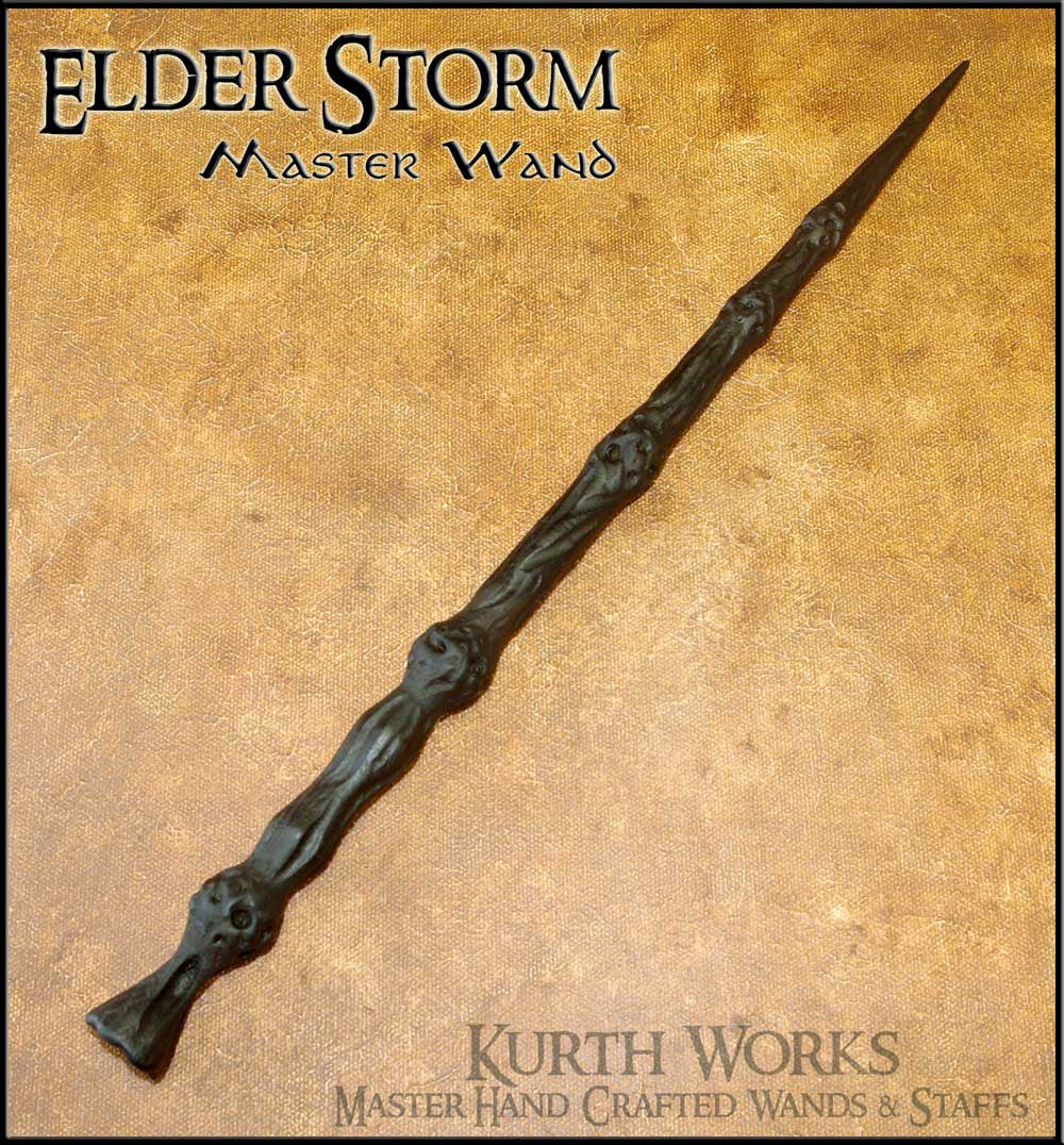 Elder storm wizard magic wand kurth works for Elder wand stand