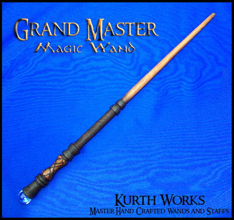 Grand Master Wizard Crystal Magic Wand