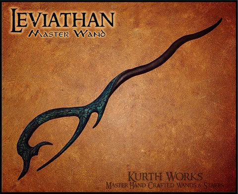 Leviathan Wizard Magic Wand
