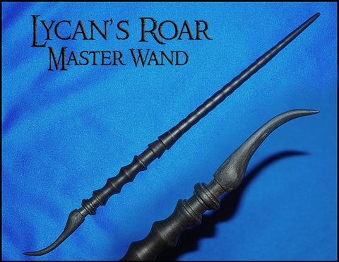 Lycan's Roar Wizard Magic Wand
