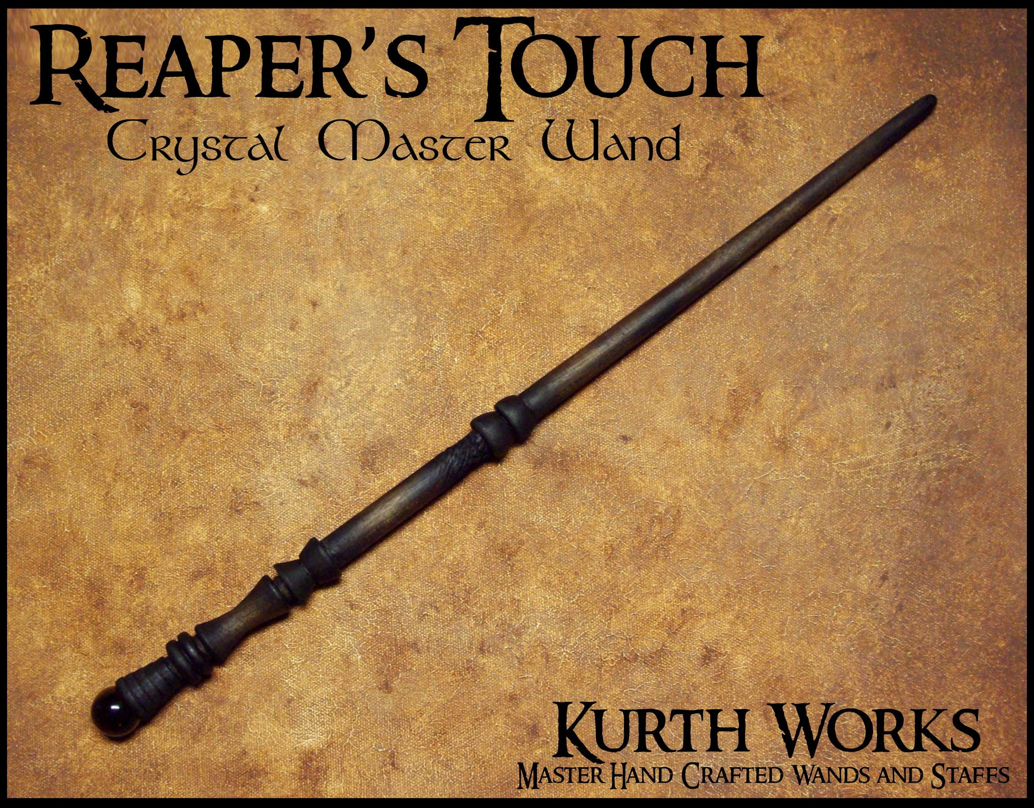 Reaper's Touch Crystal Wizard Magic Wand