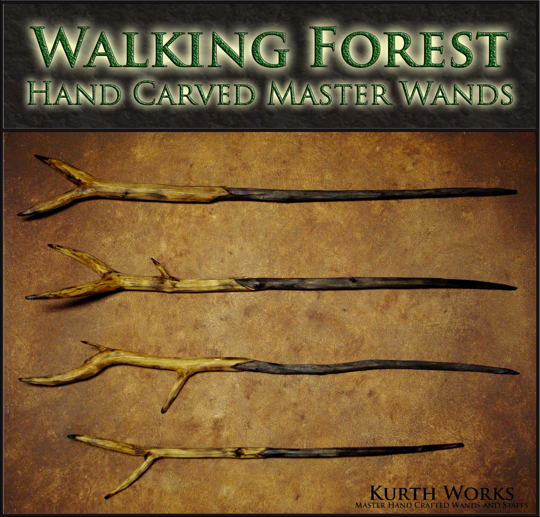 Walking Forest Wizard Magic Wands