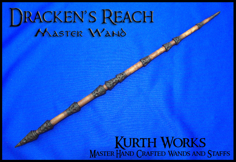 Dracken's Reach Wziard Magic Wand