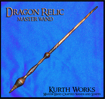 Dragon Relic Wizard Magic Wand