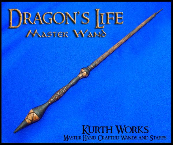 Dragon's Life Wizard Magic Wand