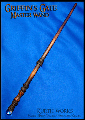Griffin's Gate Wizard Crystal Magic Wand