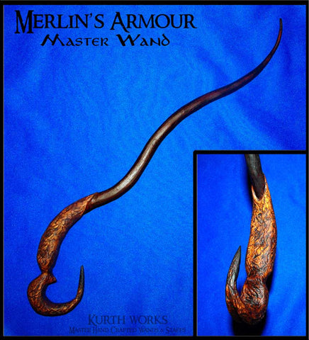 Merlin's Armour Wizard Magic Wand
