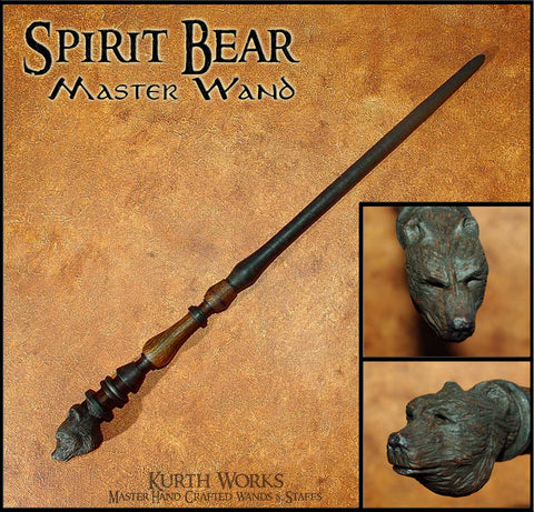 Spirit Bear Wizard Magic Wand